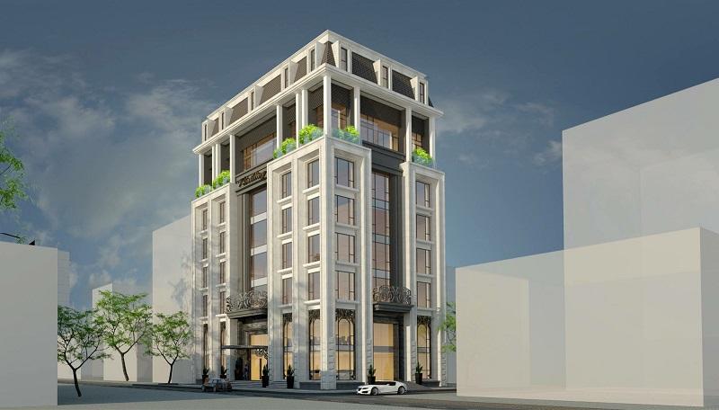 V.BUILDING, Đường Duy Tân- TP.Vinh