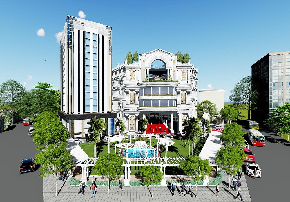 Khách sạn và Trung tâm tiệc cưới Đại Huệ